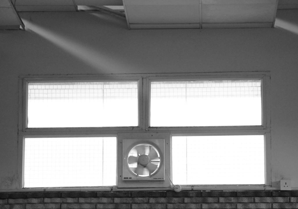 Ventilation and lighting in the Hall