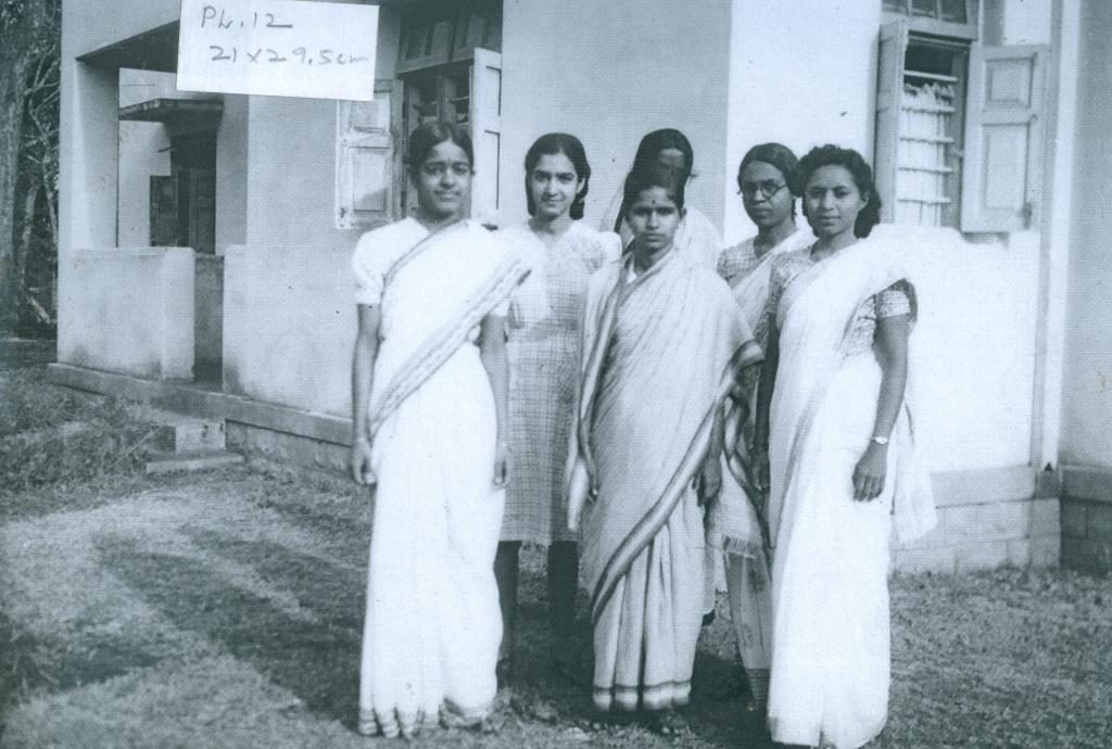 Early women researchers from IISc