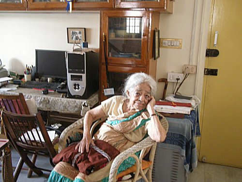 Chatterjee at home