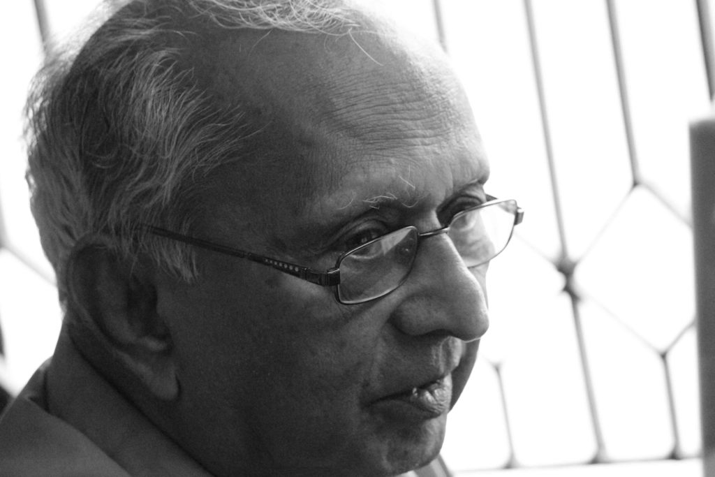 V Ramachandran (Photo: Karthik Ramaswamy)