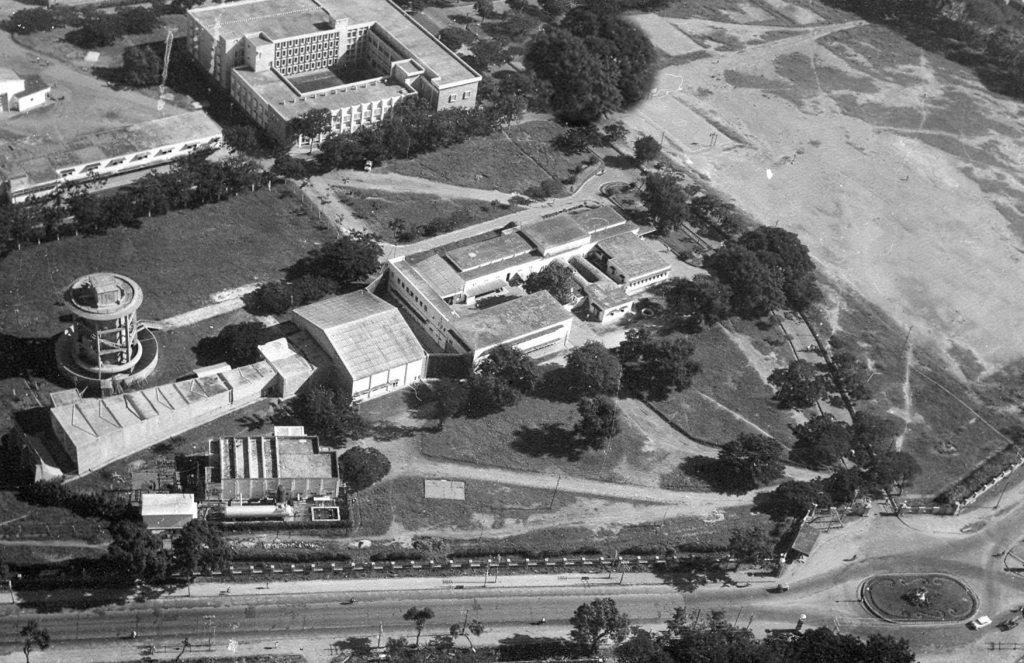 Old Aerospace Engineering Building (Aerial View)