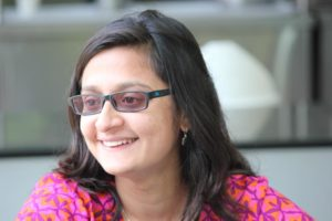 Maria Thaker, faculty from IISc, organized and helped conduct the workshop (Photo: Karthik Ramaswamy)