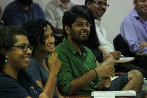 Participants in a workshop on science education at IISc (Photo: Karthik Ramaswamy)
