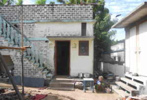 Low-cost housing and sanitation in tsunami-hit Kodiyampalayam, built using fly-ash stabilised blocks (Photo: Megha Prakash)